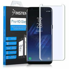 For Samsung Galaxy S8 Tempered Glass HD Clear Full Coverage Screen Protector