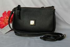 NEW Small Black DOONEY & BOURKE Leather LEXI Crossbody & Shoulder Bag Purse