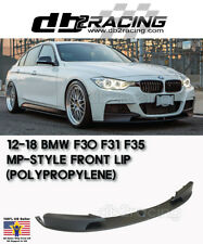 M Sport Performance Style Front Lip (PP) Fits 12-18 BMW F30 F31 3-Series Sedan