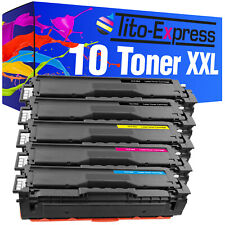 10 Toner XXL ProSerie für Samsung CLP-415 N CLP-415 NW CLX-4195 FN CLX-4195 FW