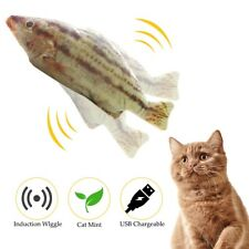 New listing Electronic Fish Cat Toy Usb Charging Simulation Fish Toys Funny Cat Chewing