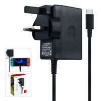 AC adapter Nintendo Switch, Wall Charger USB Type-C 39Watts TV Mode/Dock Station