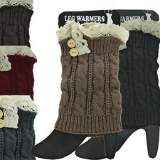 Boot Socks Knit Socks Knit Boot Cuffs Leg Warmers