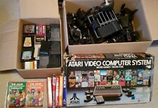 Rare Large Vintage Atari 2600 Bundle/Lot/Collection. 3 consoles and 71 games