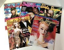 Barbie Bazaar Magazines: Lot Of 5- February, April , June, October, Dec 2002 Vgc