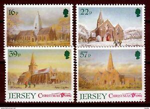 Jersey 1992 Mi. 591/94 ** postfrisch