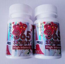 2 Bottles of 365 Skinny High Intensity Authorize Diet pills supplement
