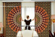 Tapisserie-Vorhang-Fenster-Behandlung böhmischer Vorhang Indische Mandala Kunst