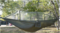 Outdoor Camping Portable Mosquito Net Nylon Hammock Hanging Bed Swing Sleeping