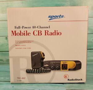 🔥NEW Radio Shack TRC-442 Citizens Band Transceiver 40 Channel CB Mobile Radio🔥