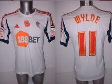 Bolton Wanderers Adidas Poppy Player Shirt Wylde Jersey Football Soccer M 2012