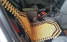 Zento Deals Wood Beaded Seat Cushion - Premium Quality Car Massaging Cover