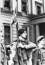 WW2 - Fanion du 1er Bataillon FM -  4 Commando Kieffer à Londres