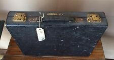 Vintage Wooden Leather Covered Case Airequipt Box