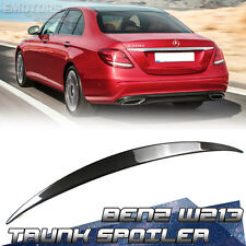 Carbon Fiber Mercedes BENZ E-Class W213 Saloon OE Trunk Boot Spoiler E300