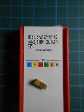 """10 x SANDVIK n151.3 a142-30 4g; 235; (W = 3,61 mm o 0.142"""") NUOVO & OVP"""