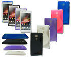 NEW S LINE GEL SOFT BACK PHONE CASE COVER FOR FITS SONY XPERIA SP M35H + SP