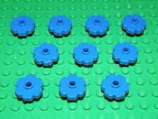 LEGO 10 x DARK BLUE FLOWERS PART No 4728 CITY-FRIENDS
