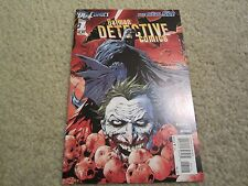 DETECTIVE COMICS #1 2ND PRINT NEW 52 RARE SOLD OUT cool COVER!!!