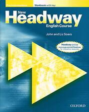 Oxford NEW HEADWAY Pre-Intermediate Workbook with Key | Soars @NEW BOOK@