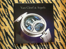 VAN CLEEF AND ARPELS WATCH CATALOG! CHARMS TIMELESS DIAMONDS +