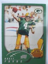 "Brett Favre - 2002 Topps #302 ""Weekly Wrap Up"" - Green Bay Packers"