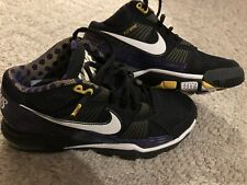 0c6d9c54fb0a Nike Trainer SC 2010 Adrian Peterson All Day Bo Knows Size 8 Vikings