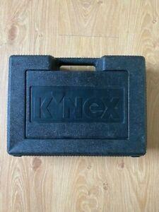 K'NEX Genuine EMPTY Storage Box Case Black 35 x 25 x 11cm Hard Plastic EMPTY.