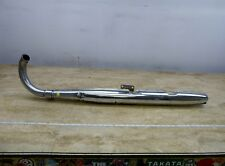 1967 Suzuki T20 X6 Hustler S818. left exhaust header muffler tail pipe