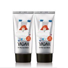 (1+1) Yadah Oh My Sun Block 50ml SPF35 PA++ Sunscreen 2pcs Set
