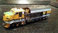 Athearn HO scale F7A Rio Grande D&RGW dummy Bone Yard custom built diorama-ready