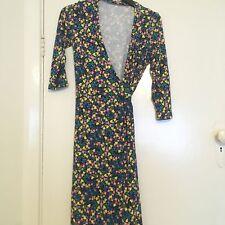 REVIEW floral wrap dress 8