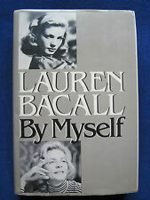 LAUREN BACALL - SIGNED by BACALL with Full Name & as BETTY to Film Colleague