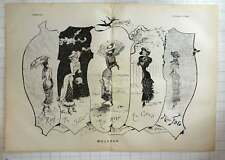 1879 Weather Women, Miss Rain, Snow, Heat, Cold, George Pilotelli