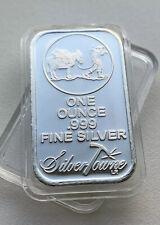 1oz 999 Silver Bar American Silvertowne Bullion Bar 1 Troy Ounce