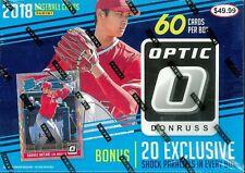 2018 Panini Donruss Optic MLB Baseball CARD Mega 60ct Box BRAND NEW - 10 PRIZMS