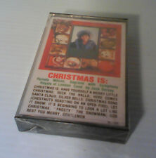 Christmas Is: Cassette - SEALED
