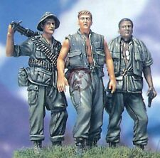 "Legend 1/35 1/35 ""Three Fighting Man"" US Soldiers in Vietnam War [Resin] LF0052"