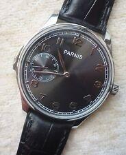 Parnis elegante reloj hombre funcionan Ø 44 mm Seagull-st3600-ungetragen