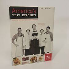 America's Test Kitchen, Complete 7th Season DVD seet-4 discs-2007