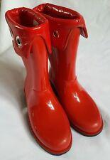 TTY Ladies Red Wellington Boots Footwear - Size UK 4/EU 37*