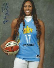 Alaina Coates Signed 8 x 10 Photo Wnba South Carolina Gamecocks Basketball Sky