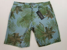 new Slate & Stone men shorts Ross Novelty 31 blue trees MSRP $148