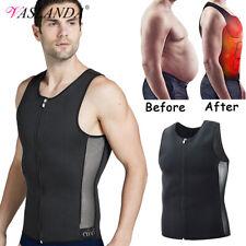 Men Tank Tops Neoprene Body Shaper Sweat Sauna Suit Sweat Vest Fat Burner Slim