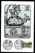 Spain on postmark ESP. 2004 (s + t) finusgab 2003 Cathedral Font sant jordi