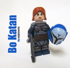 LEGO custom -- Bo Katan -- Star Wars Clone Mandalorian mini figure