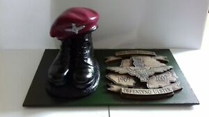 Boots and Beret/Army/Militaria/Operation Banner/paras/Parachute regiment