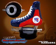 New York Rangers Vintage 1970s Skate Bottle Opener Mint in Box