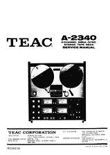 Service Manual-Anleitung für Teac A-2340