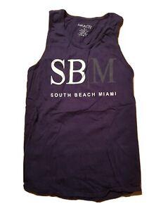 South Beach Miami Shirt - M - Muscle Shirt